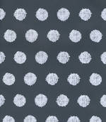 Folded Wrap: Woven Dots Black