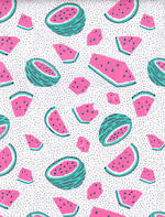 Folded Wrap: Watermelons