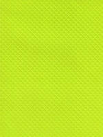 Folded Wrap: Lime Green Emboss