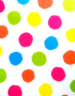 Folded Wrap: Big Neon Spots