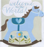 Baby Card Boy: Dixie Welcome To World