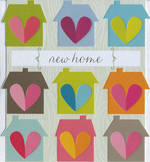 New Home Card: Dixie House & Hearts