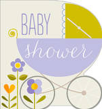 Baby Shower Card: Dixie