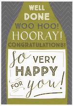 Congratulations Card: Ink Hooray