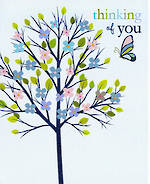 Sympathy Card: Thinking Of You Think Of Me