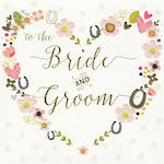 Wedding Card: Rosetta To Bride And Groom