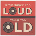 Lettered: Music Too Loud