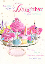 Daughter Birthday Card: Birdsong Special