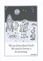 Blank Card: Matt - From Planet Earth