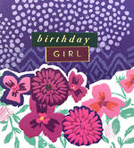 Proper Mail: Birthday Girl Purple