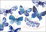 Woodmansterne Landscape: Blue Butterflies
