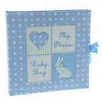 Petit Cheri Baby Photo Album Blue