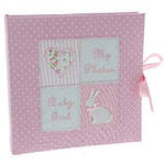 Petit Cheri Baby Photo Album Pink