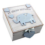 Petit Cheri Keepsake Box Blue