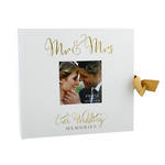Our Wedding Album Gold Foil